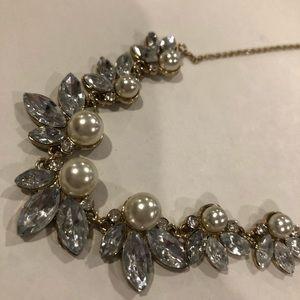 Francesca's Collections Jewelry - FRANCESCA'S Cute Rhinestone necklace blue